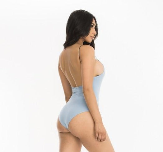 Stretch Strap Tank Bodysuit