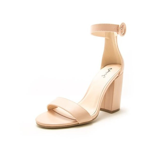 Lake One Strap Ankle Heel