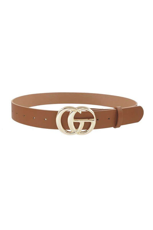 Oversize Double C Buckle Belt PLUS