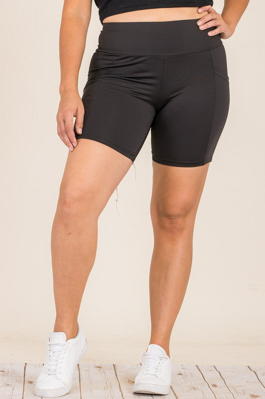 Yoga Bike Short with Side Pockets