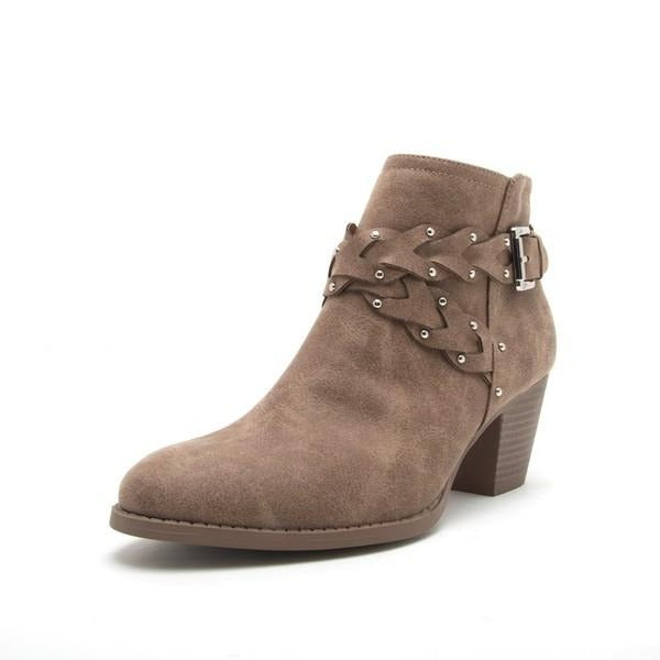 Morrison Braid Strap Ankle Boot