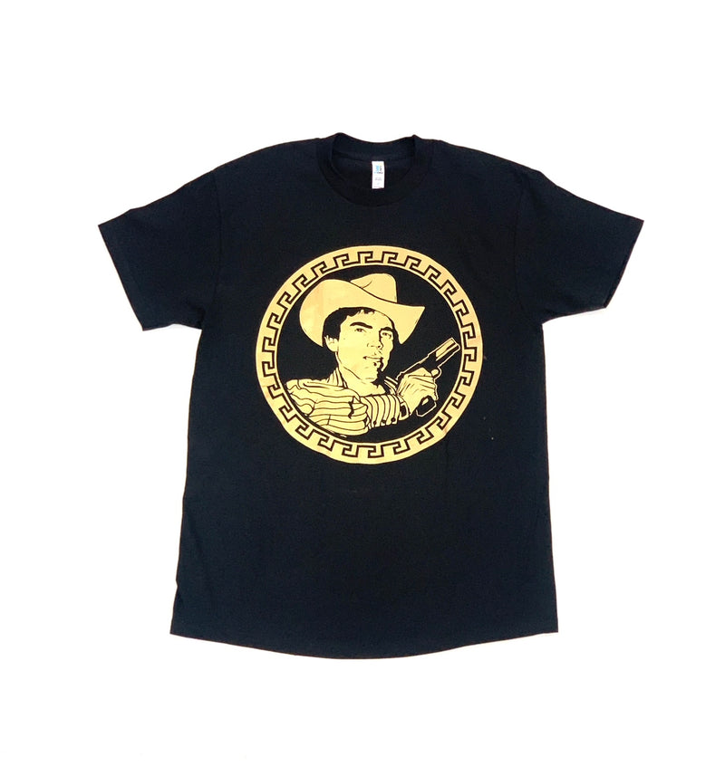 Chalino Sanchez Gun Gold Circle Tee