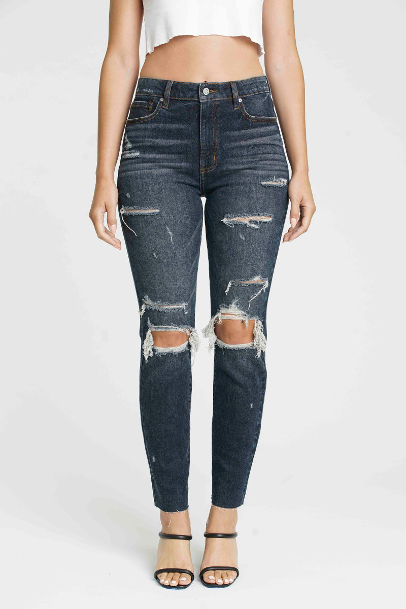 Tobi High Rise Super Mom Jean