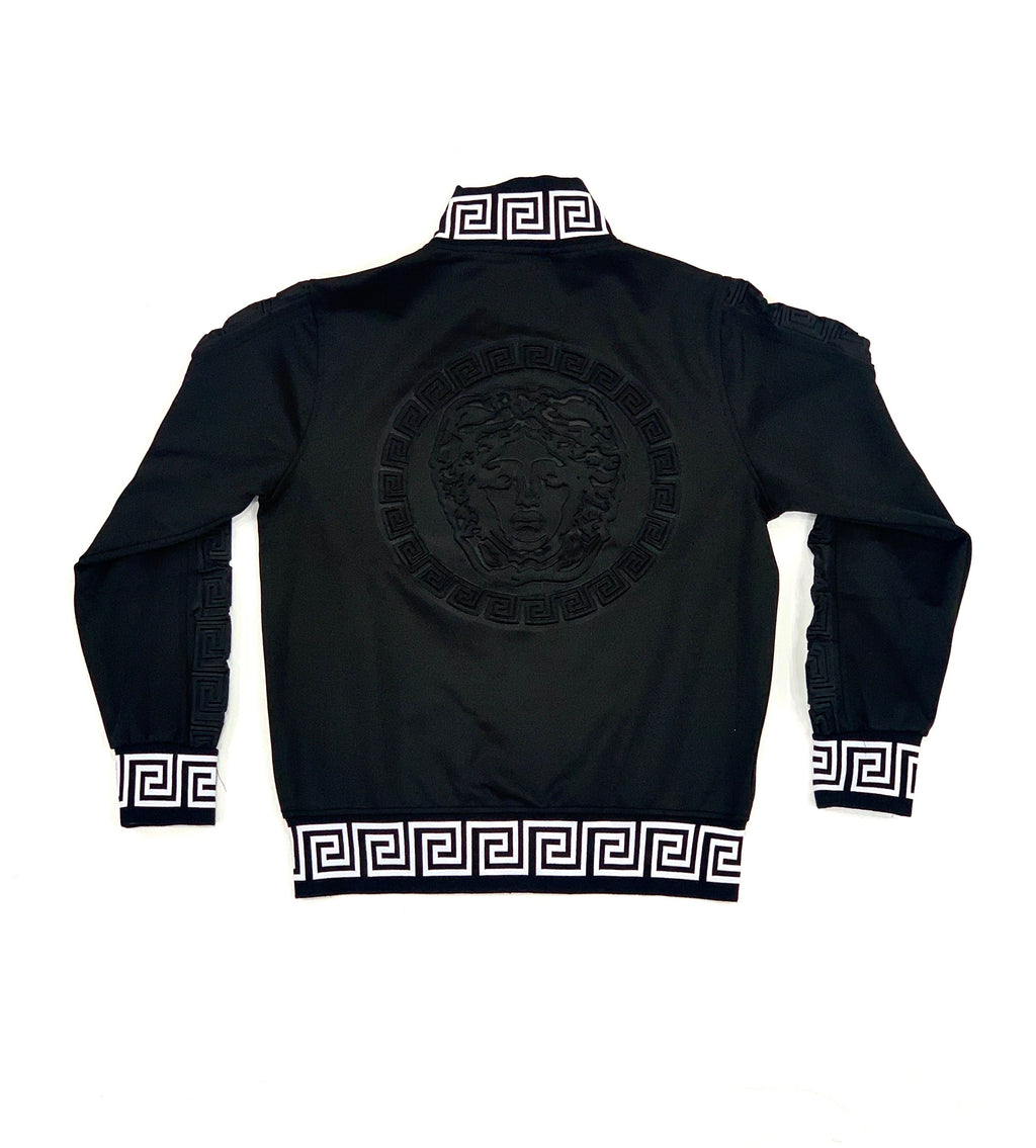 Medusa Head Stamped Back Track Jacket
