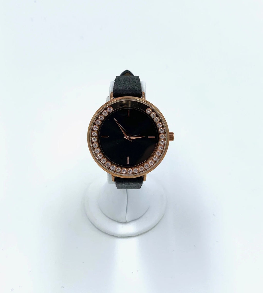 Floating Crystal Classic Watch