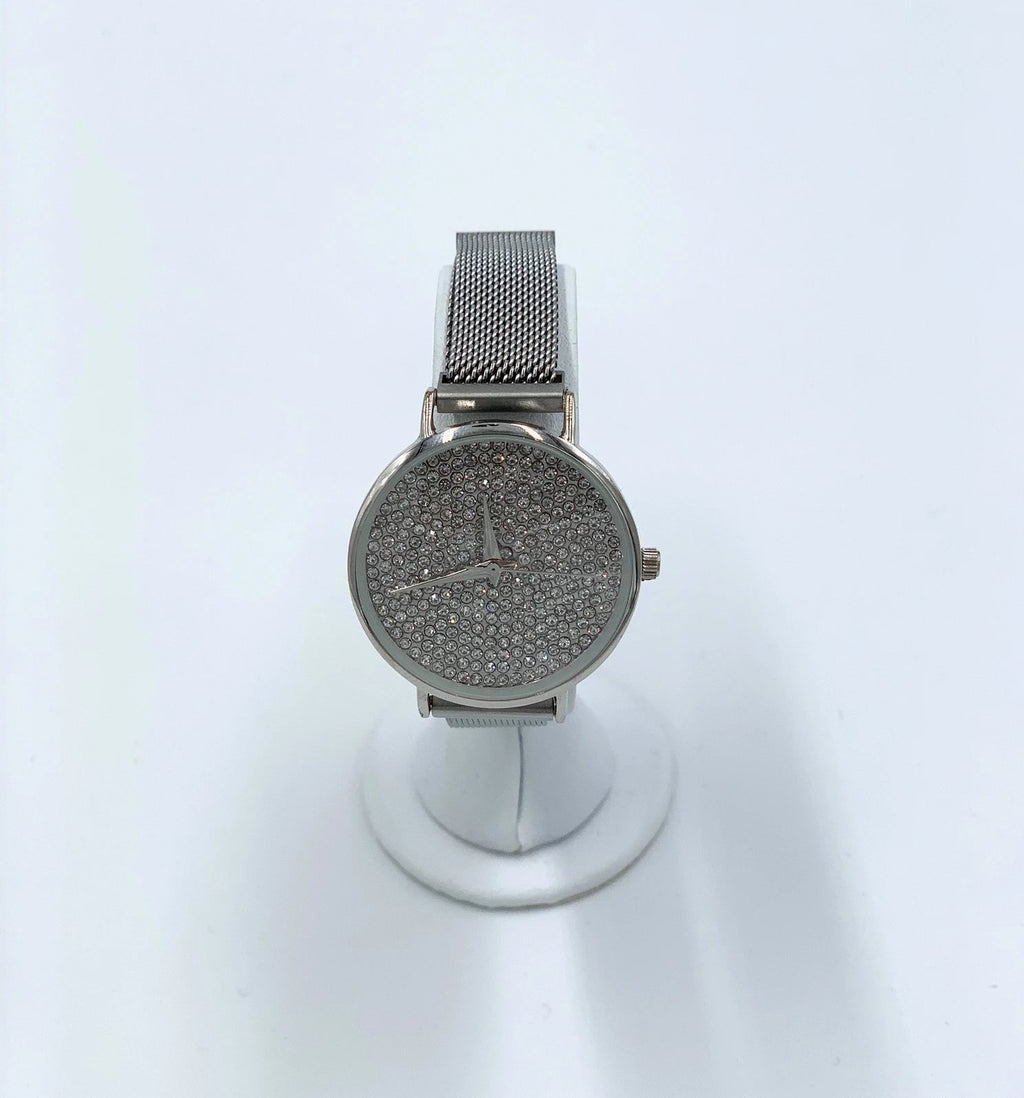 Crystal Face Magnetic Strap Watch