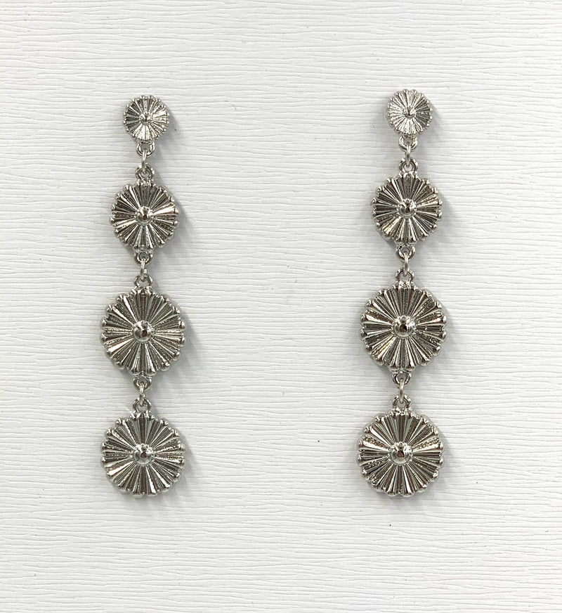 Lily Pad Dangle Earring