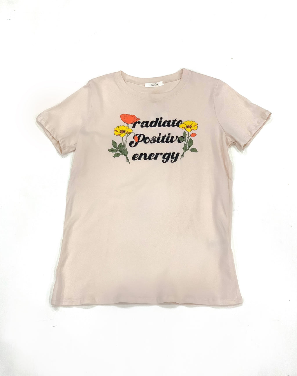 Positive Thoughts Flower T-Shirt