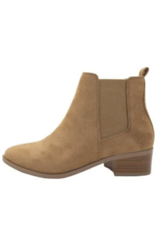 Teapot Suede Chelsea Boot