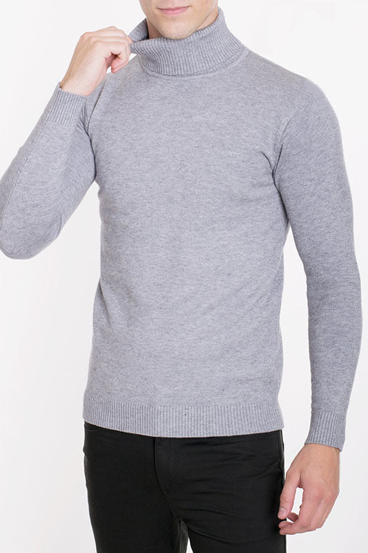 Solid Knit Turtleneck