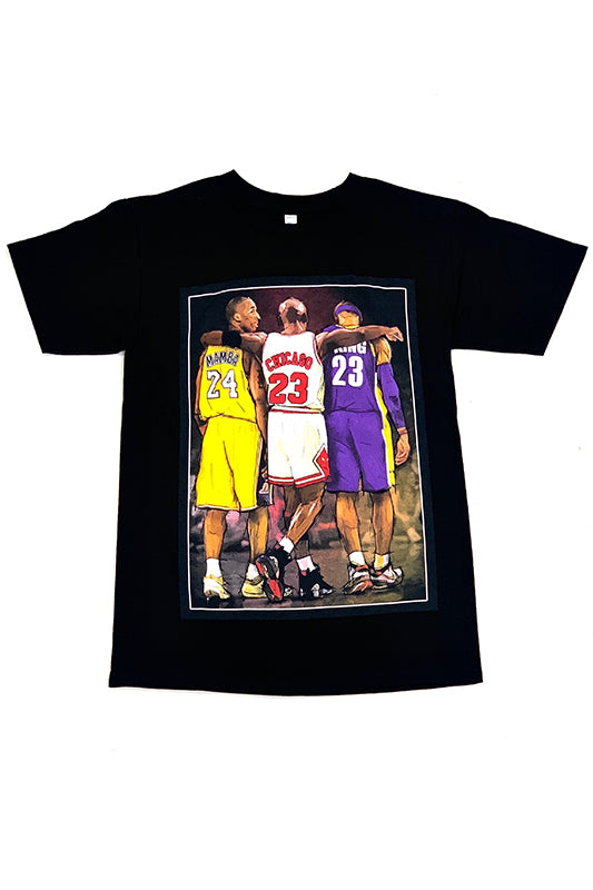 Basketball Legends Graphic T-Shirt