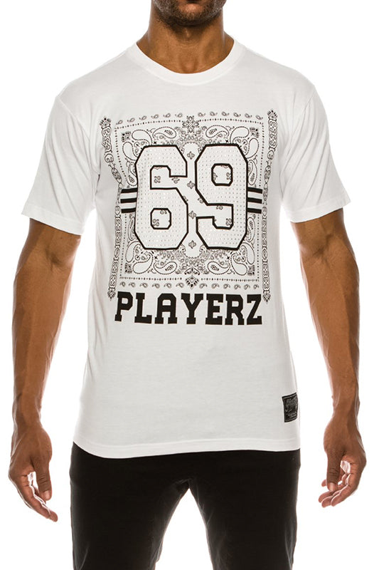 Playerz #69 Bandana T-Shirt