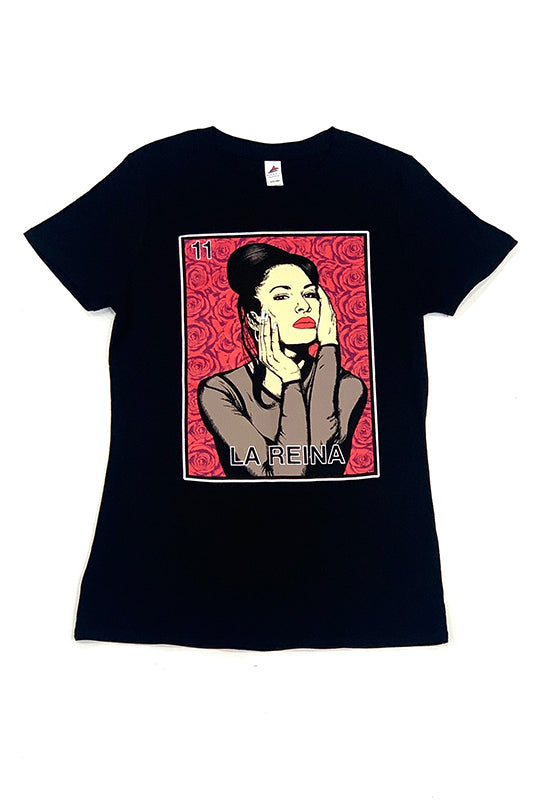 La Reina Loteria Card Graphic T-Shirt