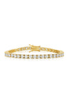 Diamond Tennis Bracelet Gold