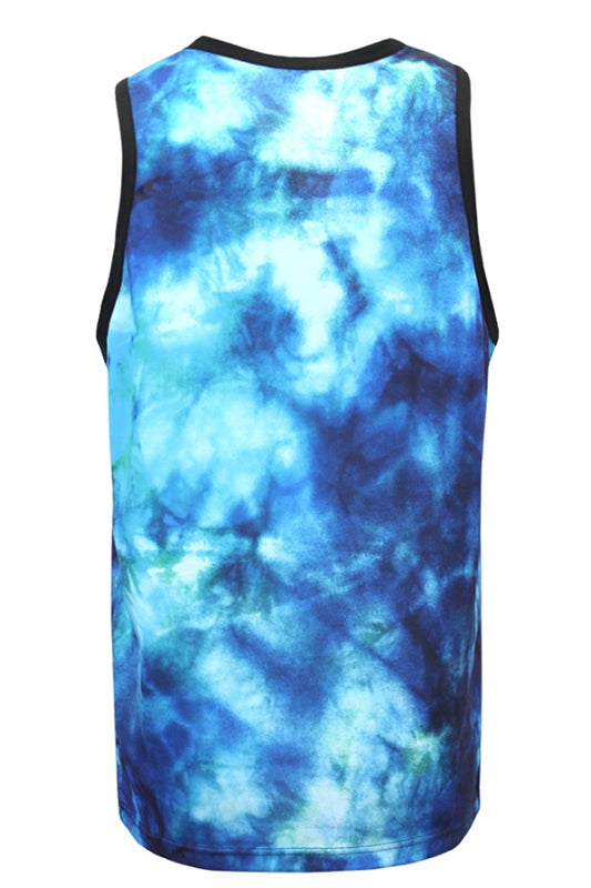 Tie Dye Savage Lion Tank Top