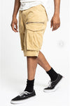 Zippered Cargo Shorts