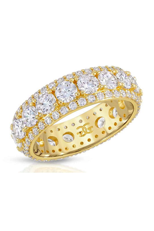 Diamond King Ring Gold