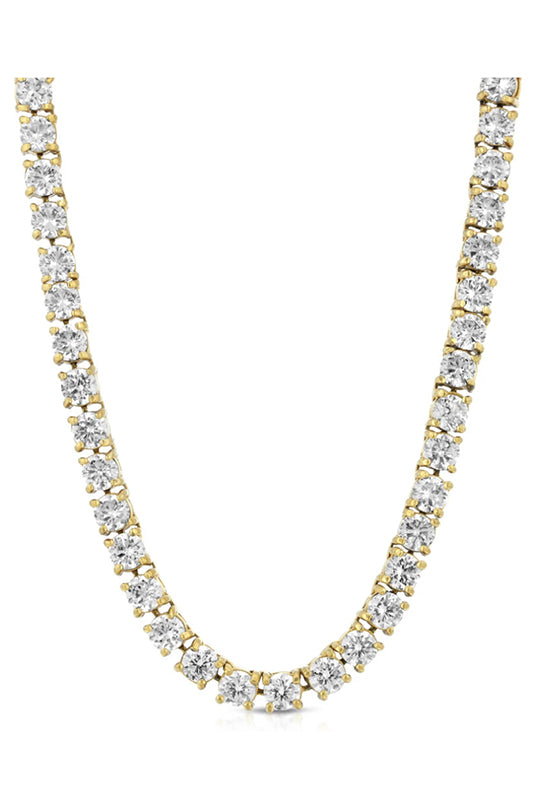 Diamond Tennis Chain Gold