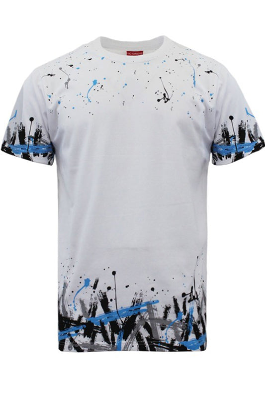 White Splatter Paint Fearless T-Shirt