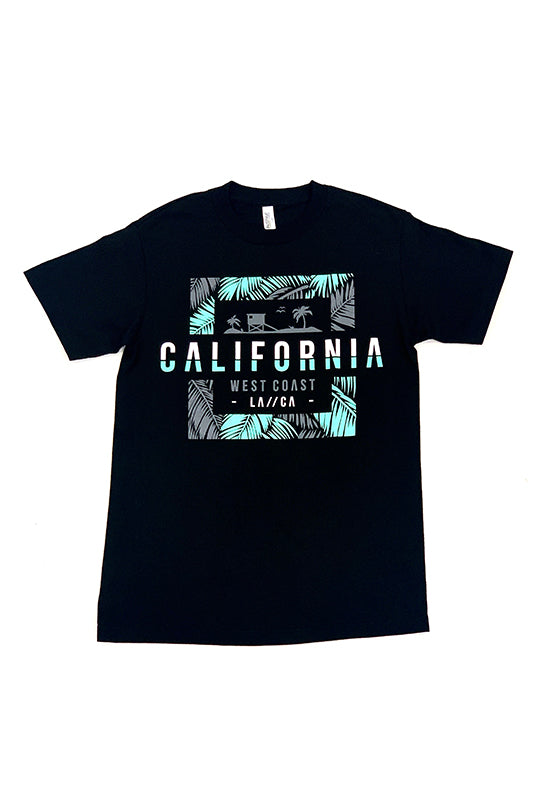 LA/CA California West Coast Graphic T-Shirt