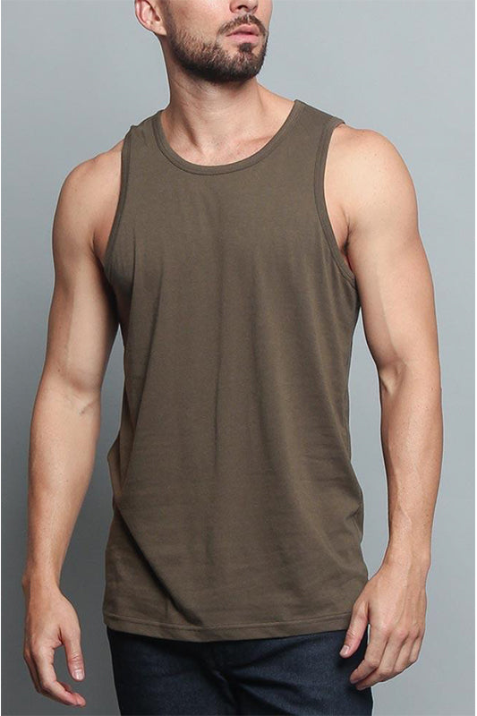 Solid Basic Tank Top