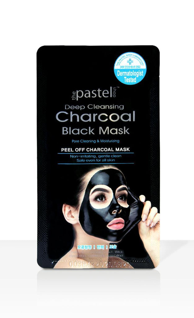 Charcoal Deep Cleansing Black Peel Off Mask Front