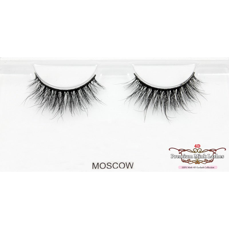 4D Premium Mink Lashes: Moscow