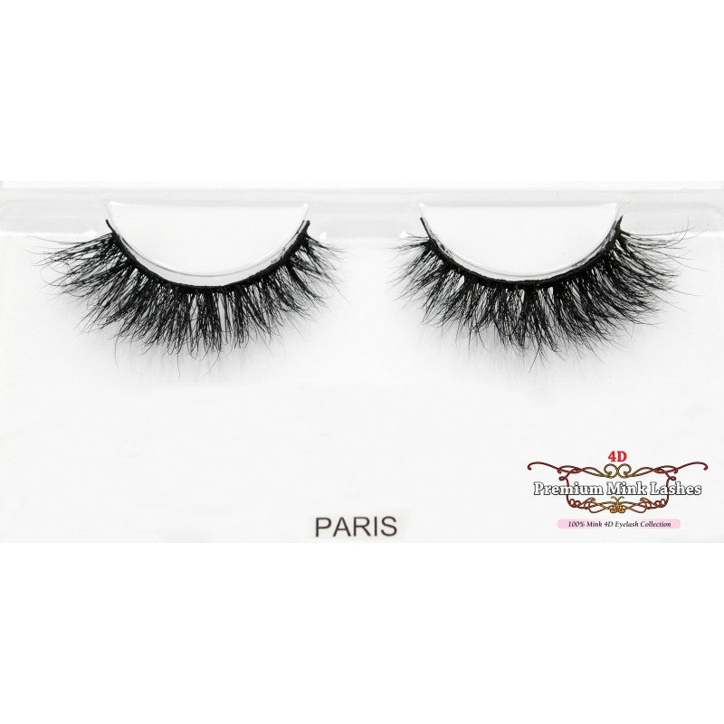 4D Premium Mink Lashes: Paris