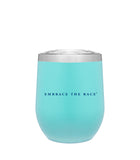 Sensational 12 Oz Wine Tumbler - Mint Matte