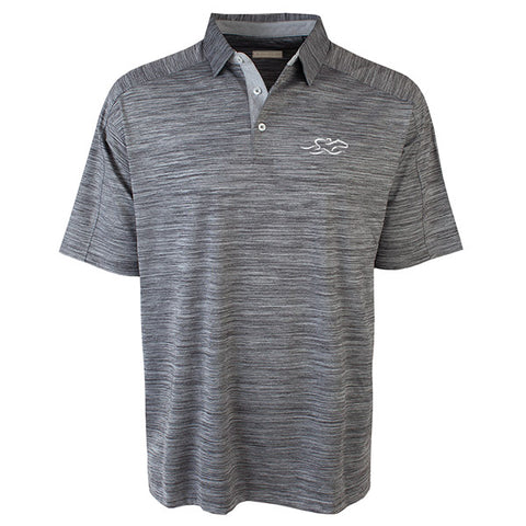Hole In One Polo-Charcoal