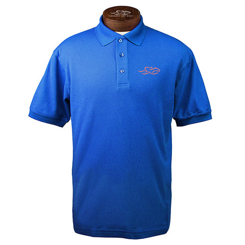 Classic Cotton Polo-Royal