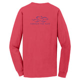 Classic Long Sleeve Pocket T - Melon
