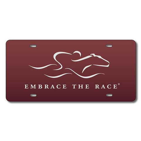 EMBRACE THE RACE® License Plate - Full Logo