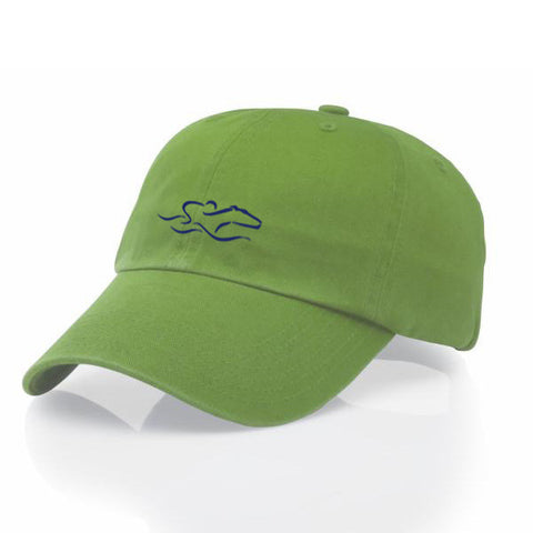 EMBRACE THE RACE® Original Relaxed Fit Hat - Lime Green