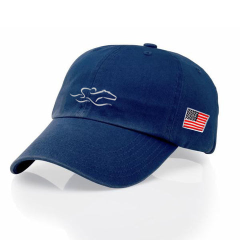 EMBRACE THE RACE® Proud American Hat - Navy