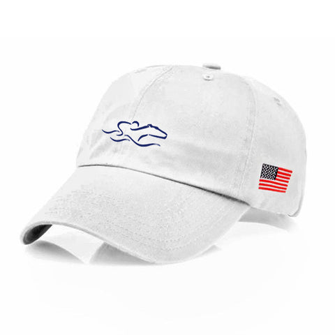 EMBRACE THE RACE® Proud American Hat - White