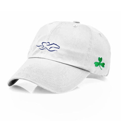 EMBRACE THE RACE® St. Patty's Shamrock Hat - White