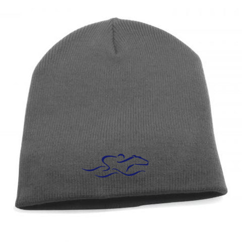 EMBRACE THE RACE® Uncuffed Beanie Hat - Gray