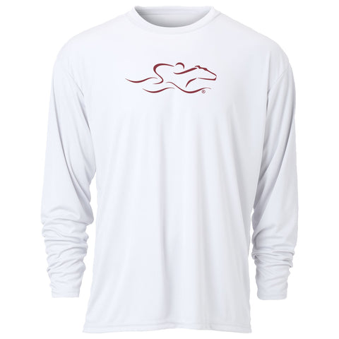 Performance Long Sleeve Tee-White