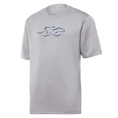 Performance Cool and Dry T Shirt - Gray