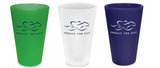 Signature EMBRACE THE RACE® Silicone Cup with Lid and Straw