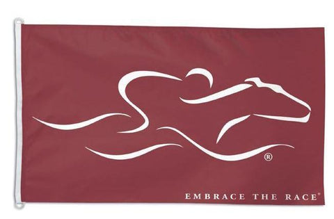 Signature EMBRACE THE RACE® Horse Racing Flag