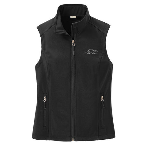 Womens Versatile Soft Shell Vest - Black