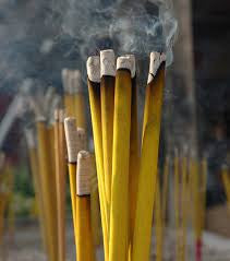 Yellow Indonesian Incense Powder