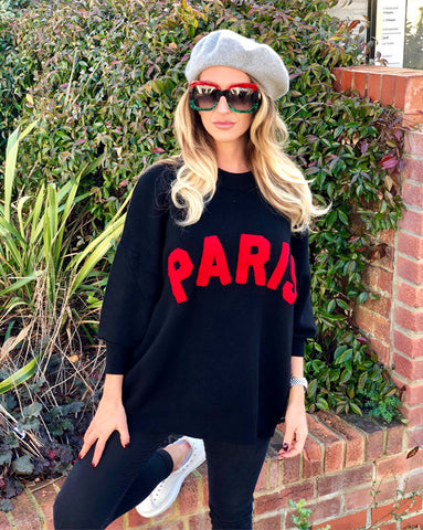 Paris Jumper in Black