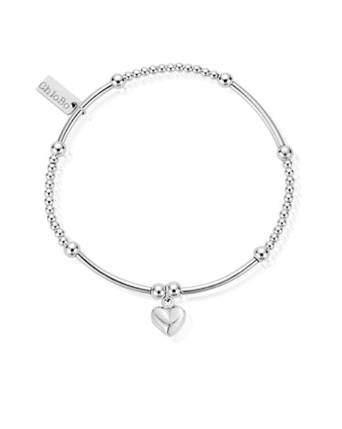 ChloBo Cute Mini Puffed Heart Bracelet