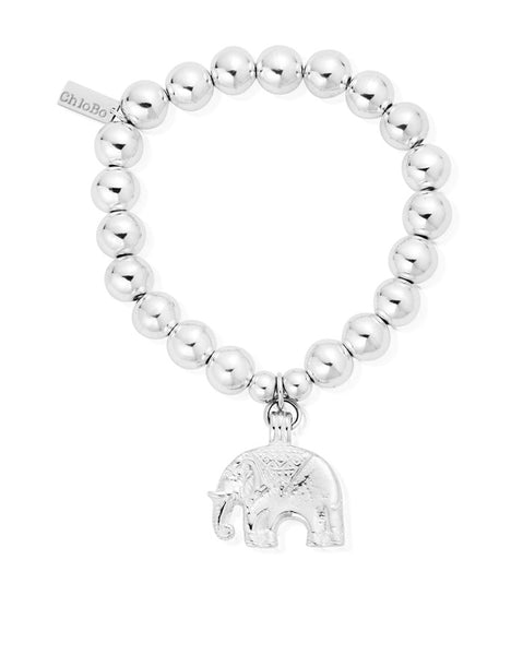 ChloBo Medium Ball Elephant Bracelet