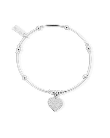 ChloBo Mini Noodle Ball Sunray Heart Bracelet