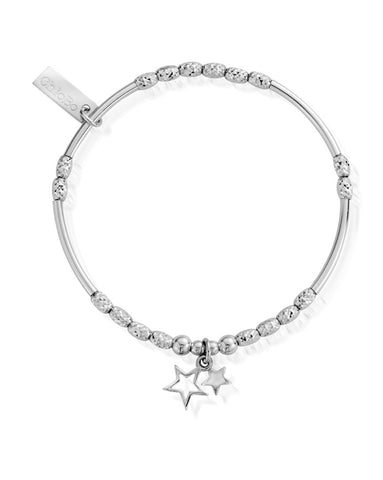 ChloBo Sparkle Double Star Bracelet