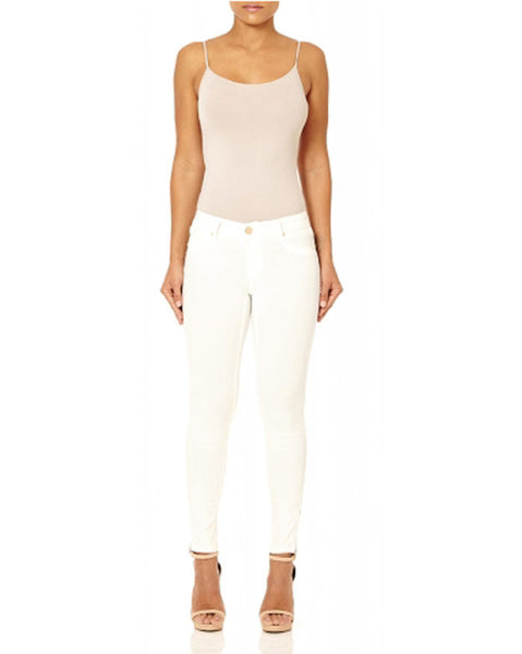 Forever Unique Cooper Ivory Fitted Jeans